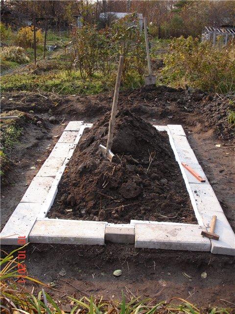 план короба для винограда